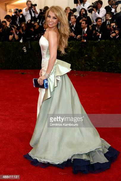 Thalia attends the 'Charles James Beyond Fashion' Costume Institute Gala at the Metropolitan Museum of Art on May 5 2014 in New York City