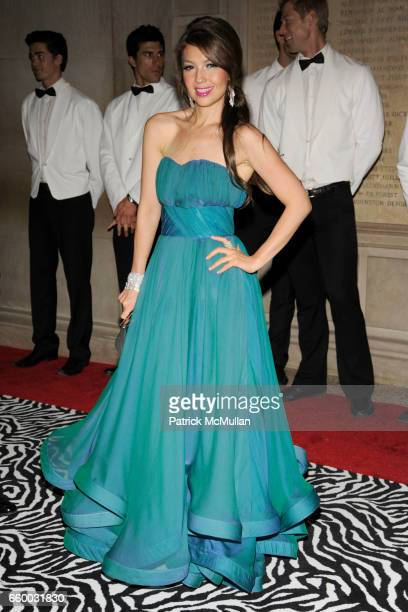 Thalia attends THE COSTUME INSTITUTE GALA 'The Model As Muse' with Honorary Chair MARC JACOBS INSIDE at The Metropolitan Museum of Art on May 4 2009...