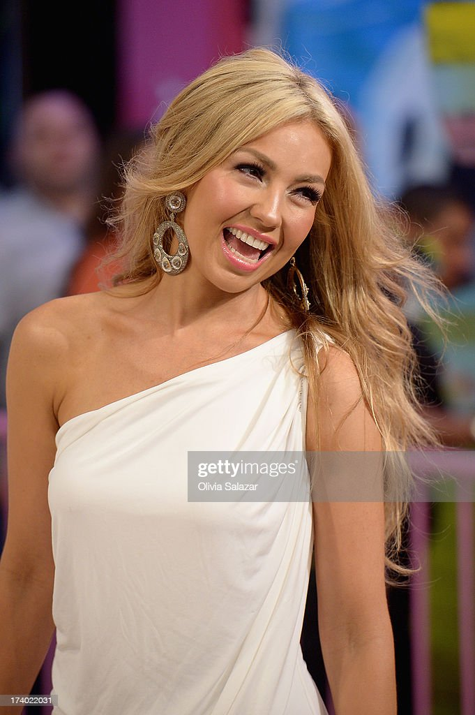 Thalia attends the Premios Juventud 2013 at Bank United Center on July 18, 2013 in Miami, Florida.