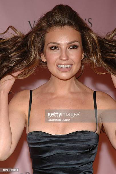 Thalia during 10th Victoria's Secret Fashion Show Arrivals at Lexington Avenue Armory in New York City New York United States