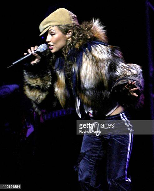 Thalia during Thalia in Concert May 05 2004 at James L Knight Center in Miami Florida United States