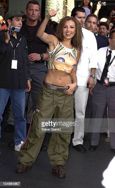 Thalia during Thalia InStore Appearance at Sam Goody at Sam Goody in Universal City California United States