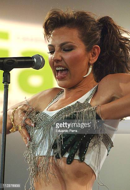 Thalia during Thalia Performs Live in the 'Cadena Dial' Radio Channel Annual Party at La Riviera concert hall in Madrid Spain