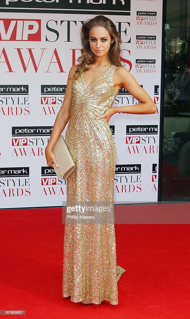 Thalia Heffernan attends the Peter Mark VIP Style Awards at Marker Hotel on April 26, 2013 in Dublin, Ireland.