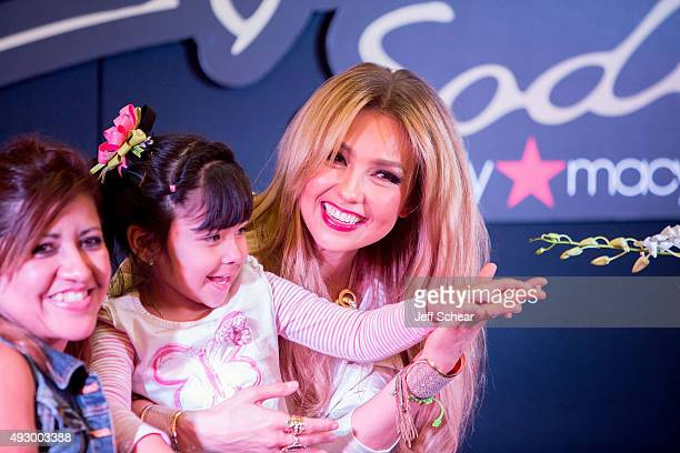 Thalia makes a public appearance at Macy's on State Street to showcase her Fall Collection at Macy's State Street on October 16 2015 in Chicago...