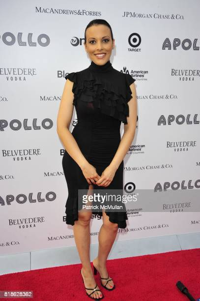 Thalia Patillo attends 2010 Apollo Theater Benefit Concert Awards Ceremony RedCarpet Arrivals at The Apollo Theater NYC on June 14 2010