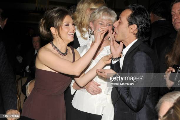 Thalia Veronica Kelly and Marc Anthony attend NEW YORK CITY POLICE FOUNDATION 32nd Annual Gala at Waldorf=Astoria on March 16 2010 in New York City
