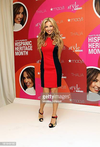 Thalia visits Macy's Herald Square on September 26 2013 in New York City