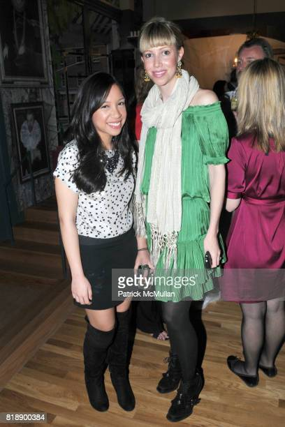Thalia Yanuar and Virginia Tupker attend The RUG COMPANY Unveils New Showroom Cocktail Party at The Rug Company on May 17 2010 in New York City