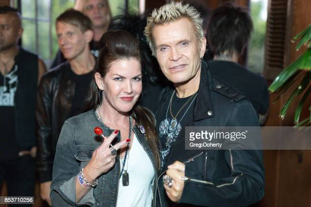 Thalians Board Member and Actress Kira Reed Lorsch and Singer Billy Idol attend the UCLA Operation Mend 10 Year Anniversary at the Home of Founder...
