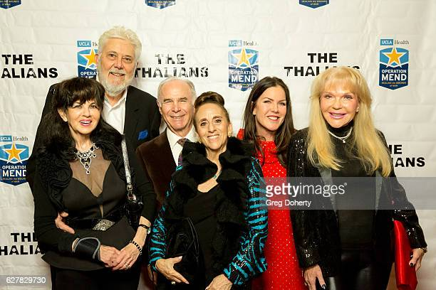Thalians Board Members Barbara CohenWolfe Larry Wolfe Jamie and Penny Ritter Actress Kira Reed Lorsch and Colleen Phillips arrive for The Thalians...