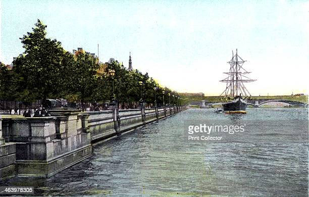 Thames Embankment London 20th Century The Embankment was designed by the civil engineer Joseph Bazalgette to accommodate his new sewer system and to...