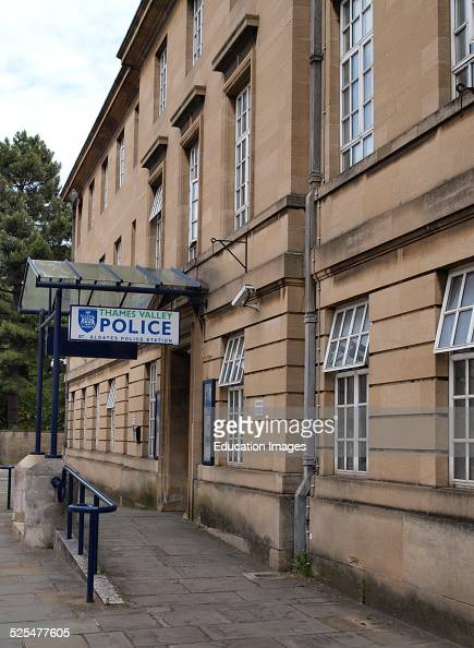 Thames Valley Police St Aldates Police Station Oxford UK