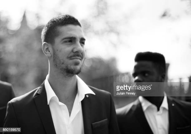 Thanasi Kokkinakis of Team Rest of the World looks on during previews on September 20 2017 in Prague Czech Republic
