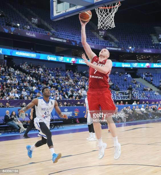 Thanasis Antetokounmpo of Greece Damian Kulig of Poland during the FIBA Eurobasket 2017 Group A match between Greece and Poland on September 6 2017...