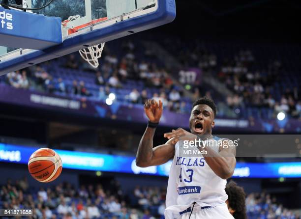 Thanasis Antetokounmpo of Greece during the FIBA Eurobasket 2017 Group A match between Greece and France on September 2 2017 in Helsinki Finland