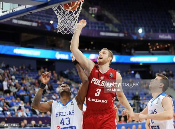 Thanasis Antetokounmpo of Greece Michal Sokolowski of Poland during the FIBA Eurobasket 2017 Group A match between Greece and Poland on September 6...