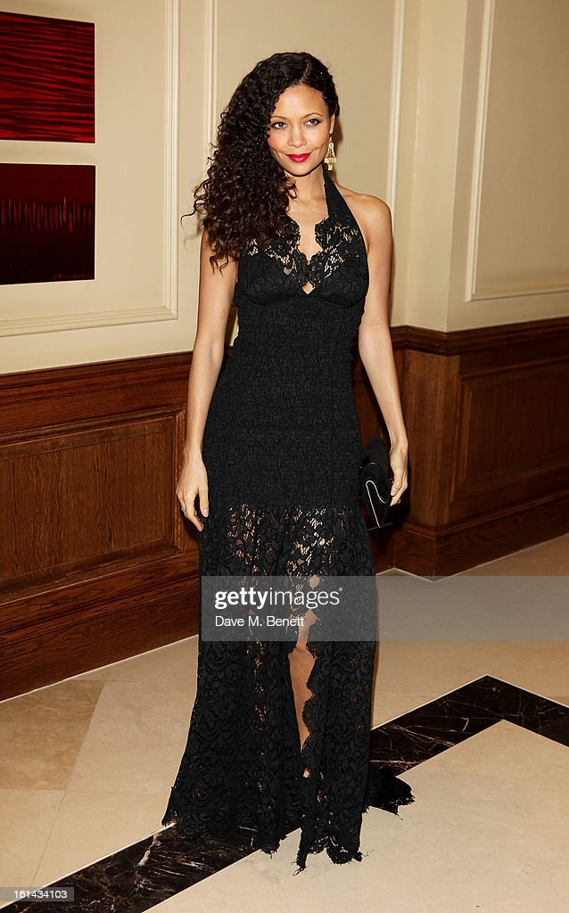 Thandie Newton arrives at the after party following the EE British Academy Film Awards at Grosvenor House on February 10, 2013 in London, England.