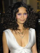 Thandie Newton at the Claridge's Hotel in London United Kingdom