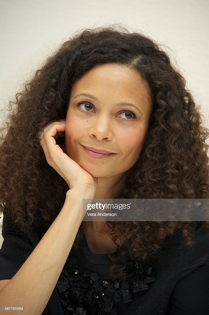 Thandie Newton at 'The Slap' Press Conference at the Four Seasons Hotel on January 16 2015 in Beverly Hills California