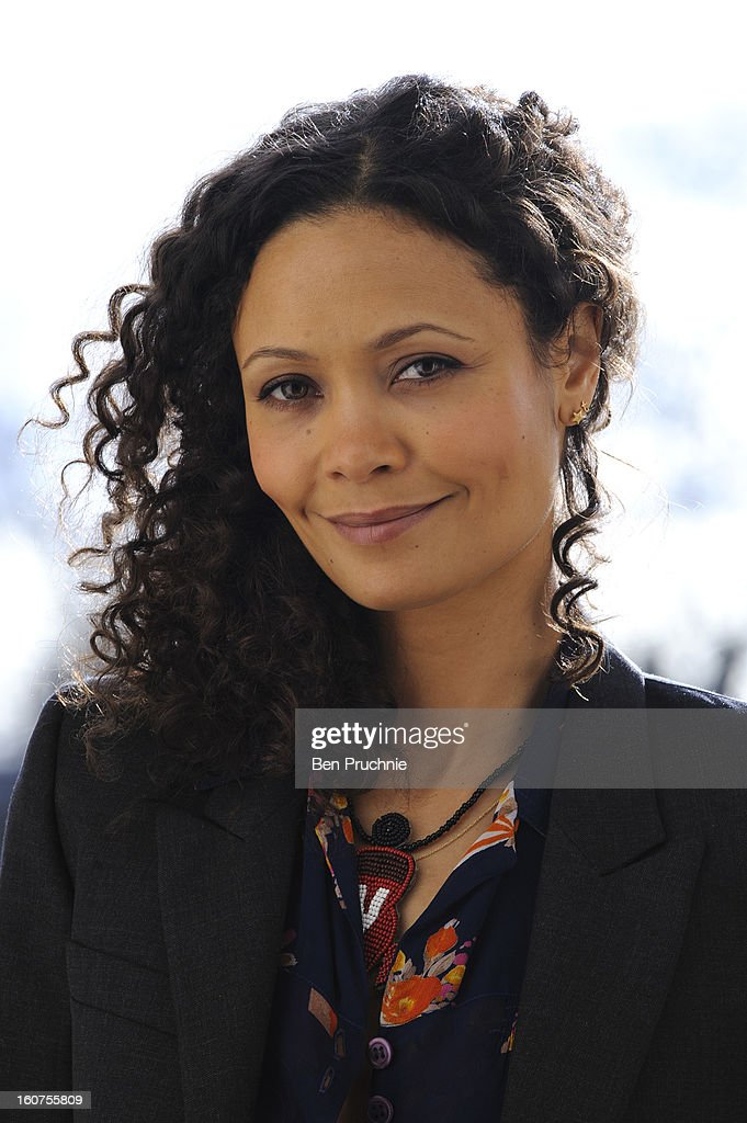 Thandie Newton attends a photocall to promote One Billion Rising, a global movement aiming to end violence towards women, at ICA on February 5, 2013 in London, England.