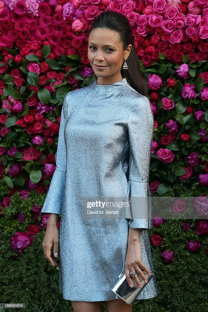 Thandie Newton attends a private dinner hosted by Thandie Newton and Sandra Choi Choi to celebrate the Jimmy Choo prefall collection 'The Season' at...