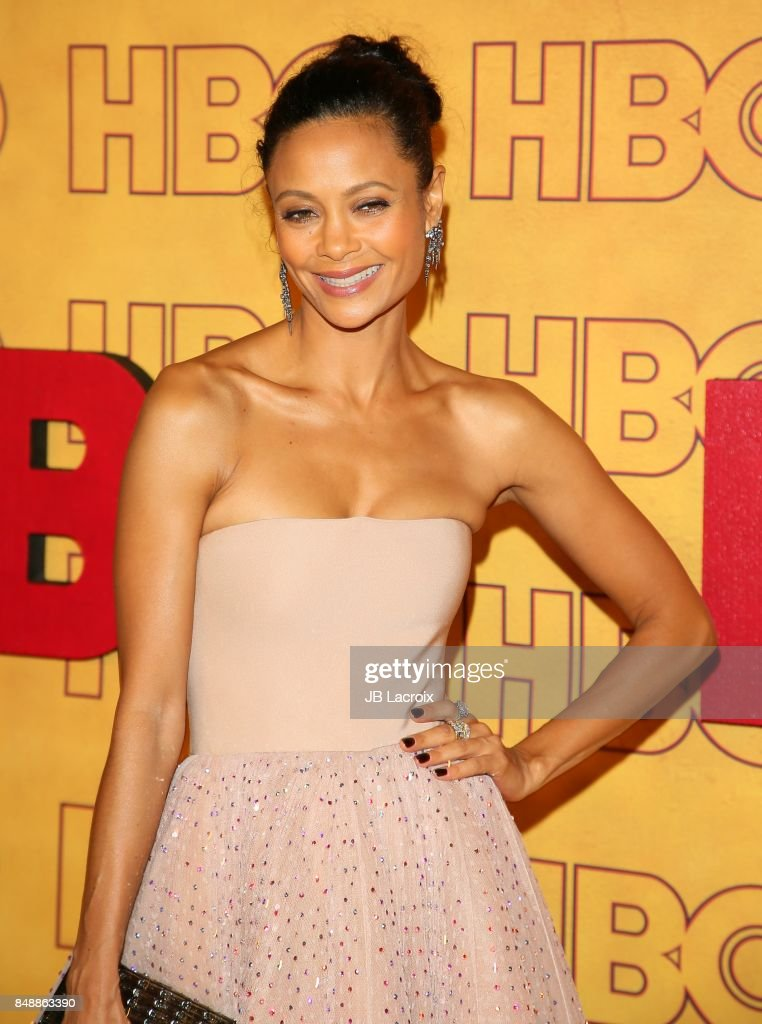 Thandie Newton attends HBO's Post Emmy Awards Reception at The Plaza at the Pacific Design Center on September 17, 2017 in Los Angeles, California.
