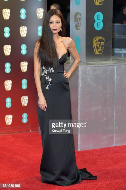 Thandie Newton attends the 70th EE British Academy Film Awards at the Royal Albert Hall on February 12 2017 in London England