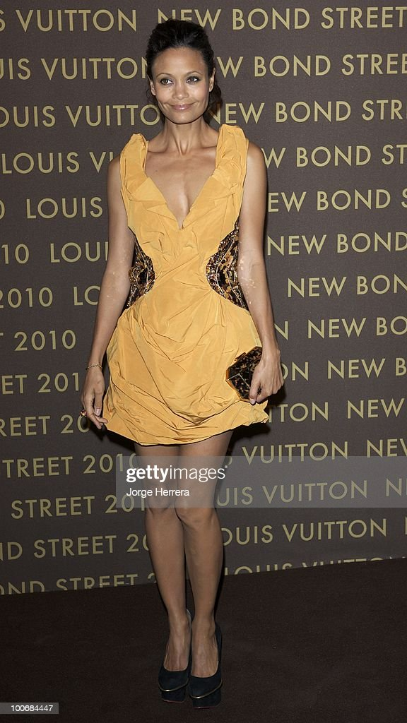Thandie Newton attends the after party for the launch of the Louis Vuitton Bond Street Maison on May 25, 2010 in London, England.