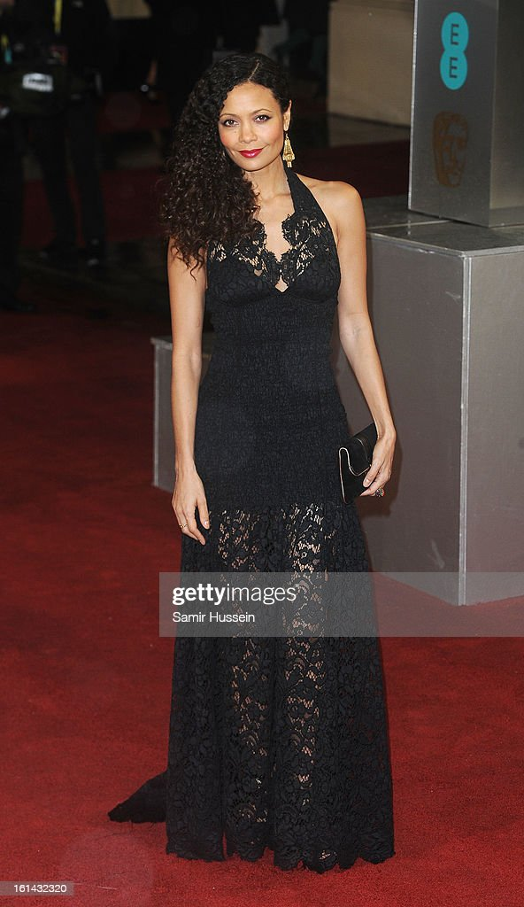 Thandie Newton attends the EE British Academy Film Awards at The Royal Opera House on February 10, 2013 in London, England.