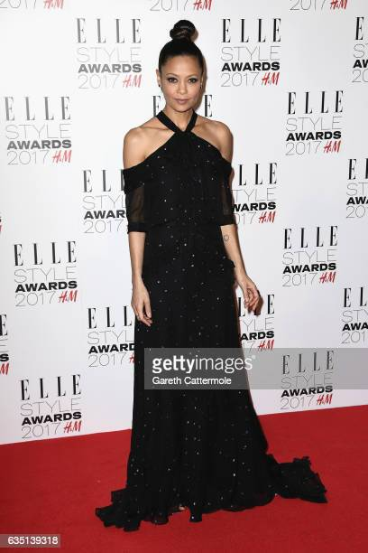 Thandie Newton attends the Elle Style Awards 2017 on February 13 2017 in London England