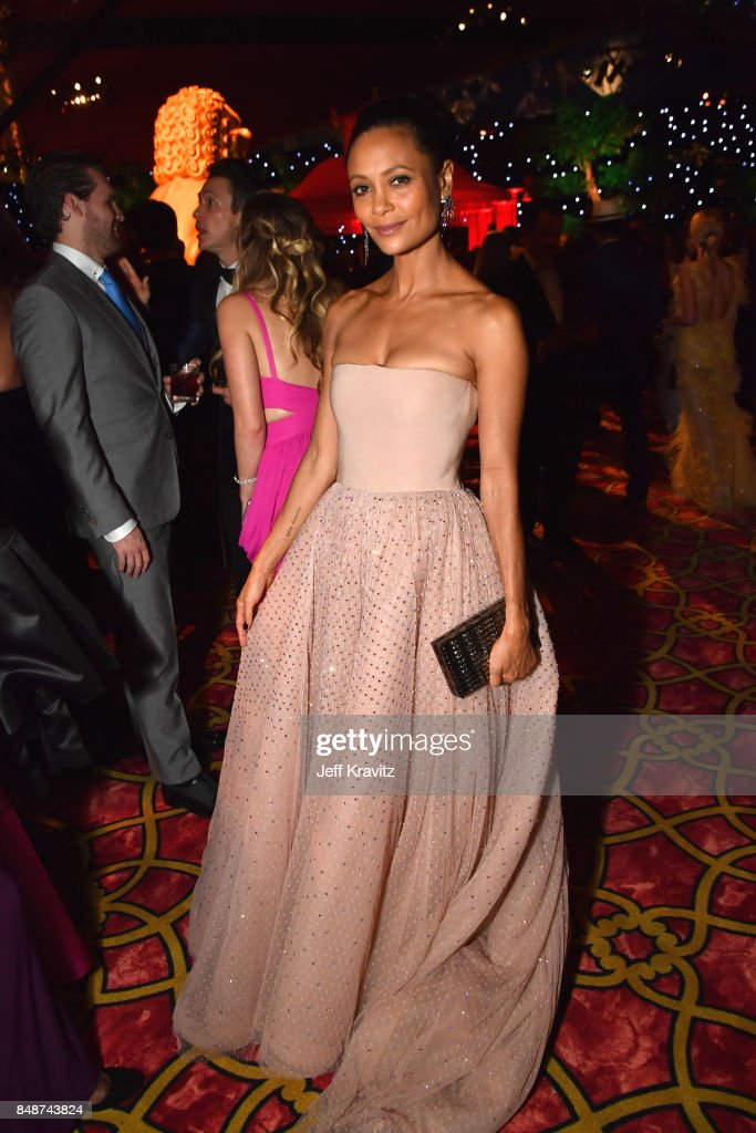 Thandie Newton attends the HBO's Official 2017 Emmy After Party at The Plaza at the Pacific Design Center on September 17, 2017 in Los Angeles, California.
