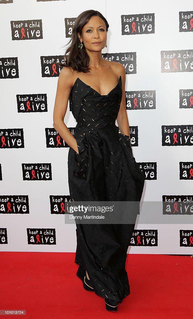 Thandie Newton attends the Keep A Child Alive Black Ball fundraiser on May 27, 2010 in London, England.