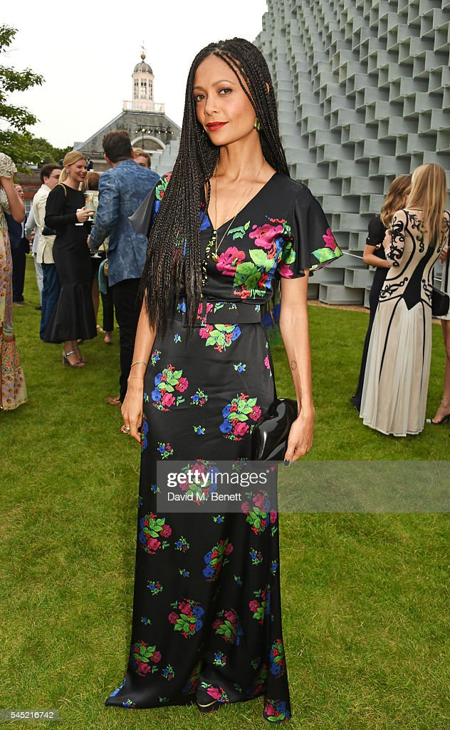 Thandie Newton attends The Serpentine Summer Party cohosted by Tommy Hilfiger on July 6 2016 in London England