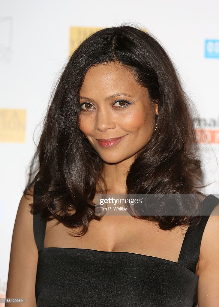 Thandie Newton attends the UK Premiere of 'Half Of A Yellow Sun' at Odeon Streatham on April 8, 2014 in London, England.
