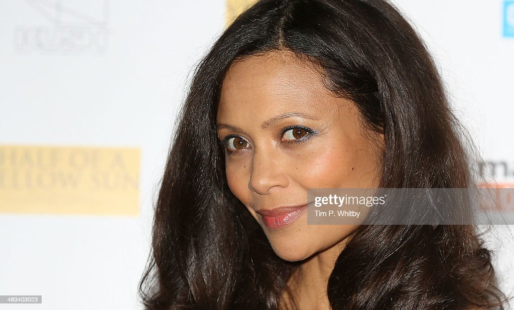 <a gi-track='captionPersonalityLinkClicked' href=/galleries/search?phrase=Thandie+Newton&family=editorial&specificpeople=210812 ng-click='$event.stopPropagation()'>Thandie Newton</a> attends the UK Premiere of 'Half Of A Yellow Sun' at Odeon Streatham on April 8, 2014 in London, England.