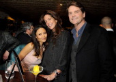 Thandie Newton Christina Robert and Barnaby Thompson attend the 'Silver Linings Playbook' Grey Goose Dinner hosted by Harvey Weinstein and Stephen...