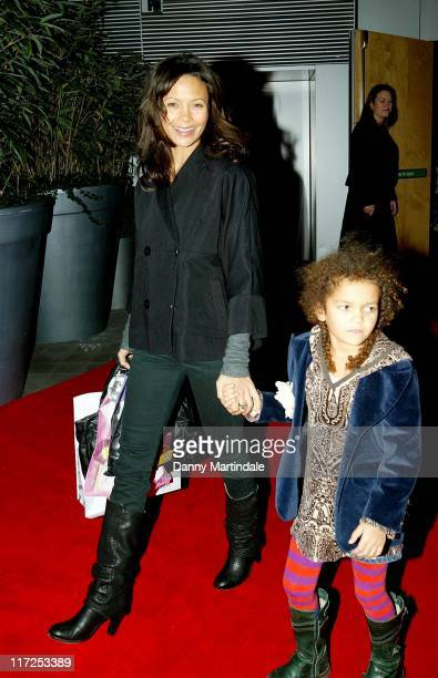Thandie Newton during English National Ballet Celebrity Party December 11 2006 at St Martins Lane Hotel in London Great Britain