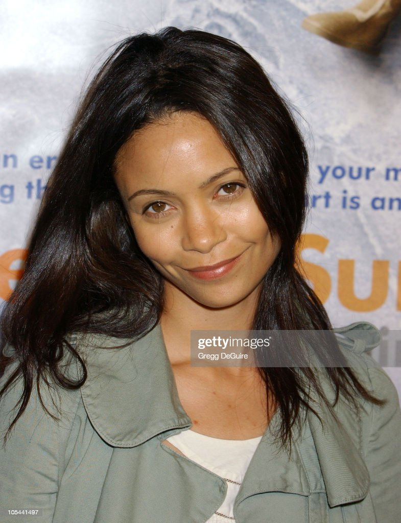 <a gi-track='captionPersonalityLinkClicked' href=/galleries/search?phrase=Thandie+Newton&family=editorial&specificpeople=210812 ng-click='$event.stopPropagation()'>Thandie Newton</a> during 'Eternal Sunshine Of The Spotless Mind' - Los Angeles Premiere at Academy Theatre in Beverly Hills, California, United States.