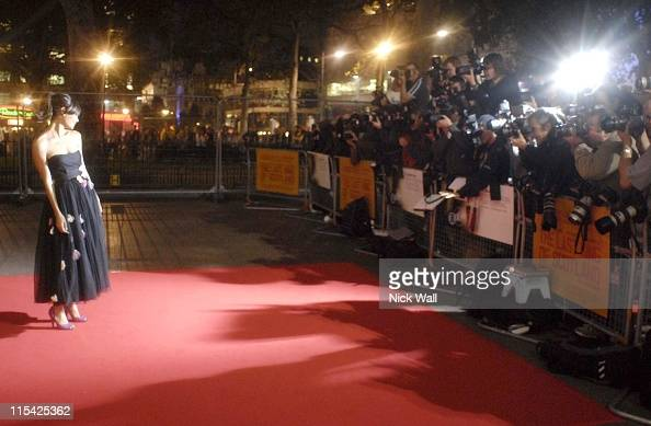 Thandie Newton during The BFI London Film Festival 'The Last King of Scotland' Opening Gala Inside Arrivals at Odeon Leicester Square in London Great...