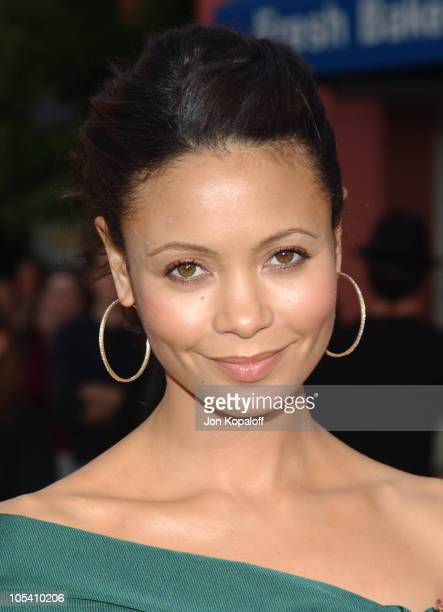 Thandie Newton during 'The Chronicles Of Riddick' World Premiere Arrivals at Universal Amphitheatre in Universal City California United States