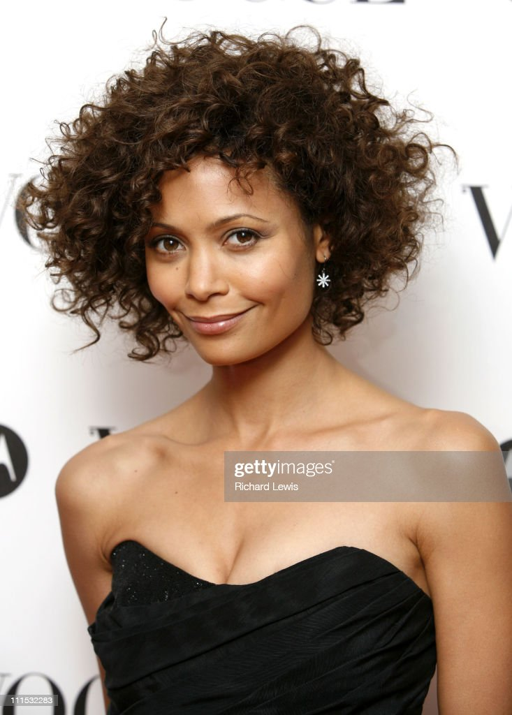 Thandie Newton during Vogue's 90th Birthday and Motorola Party Red Carpet Arrivals in London United Kingdom