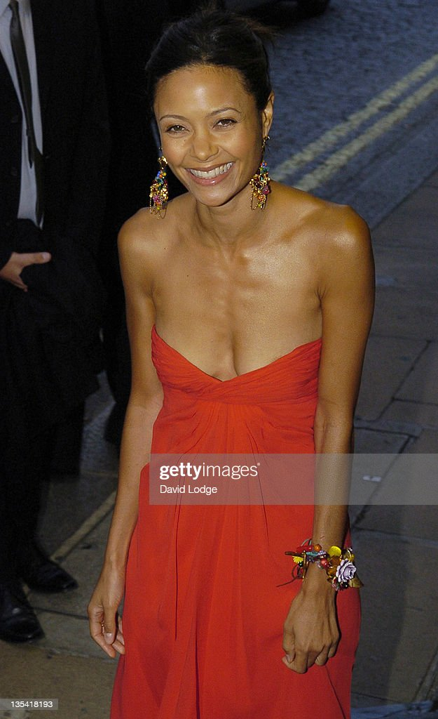 <a gi-track='captionPersonalityLinkClicked' href=/galleries/search?phrase=Thandie+Newton&family=editorial&specificpeople=210812 ng-click='$event.stopPropagation()'>Thandie Newton</a> during 'Volver' London Premiere - Outside Arrivals at Curzon Mayfair in London, Great Britain.