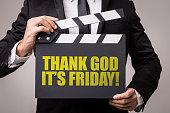 Thank God Its Friday sign