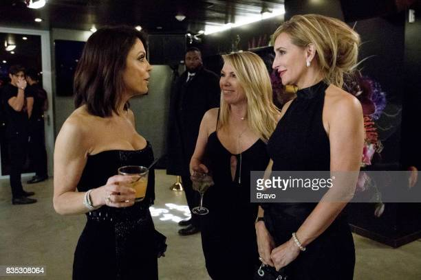 CITY 'Thank You and Good Night' Episode 919 Pictured Bethenny Frankel Ramona Singer Sonja Morgan