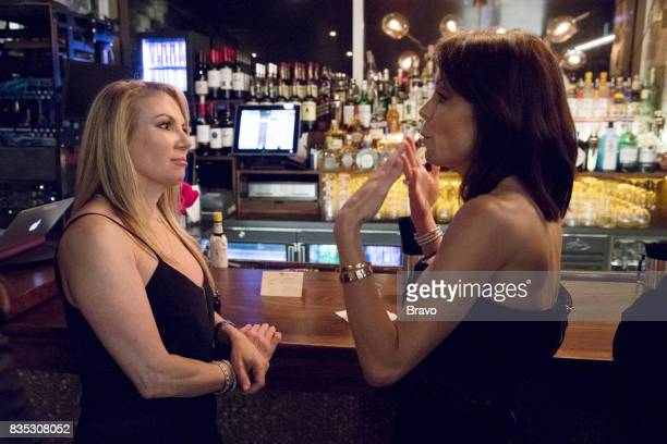 CITY 'Thank You and Good Night' Episode 919 Pictured Ramona Singer Bethenny Frankel