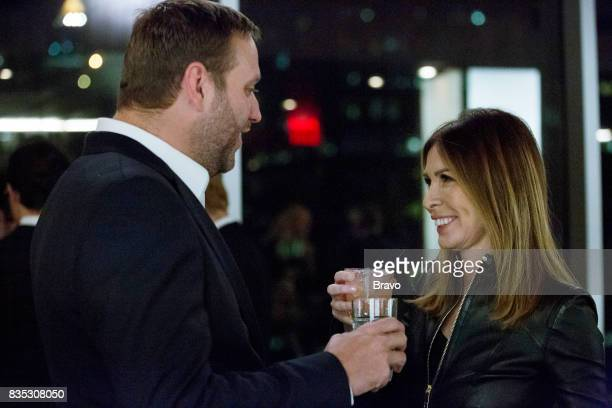 CITY 'Thank You and Good Night' Episode 919 Pictured Scott Kluth Carole Radziwill