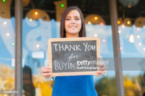 Obrigado por comprar local