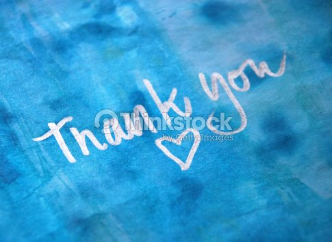 thank you message : Stock Photo