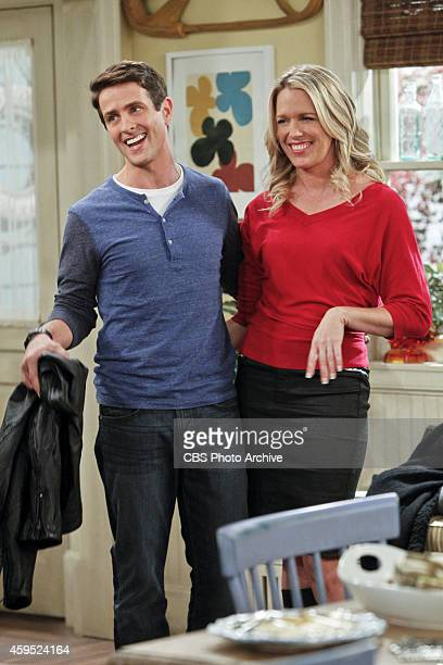 'Thanks A Lot Ronny' Pictured Joey McIntyre as Gerald and Jessica St Clair as Katrina During Thanksgiving dinner the McCarthy family works together...